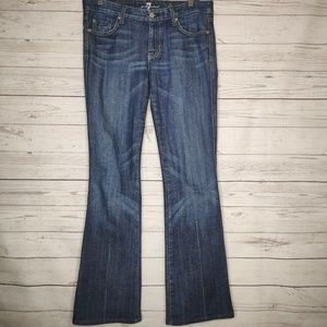 7 For All Mankind A Pocket Denim Jeans Boot Cut